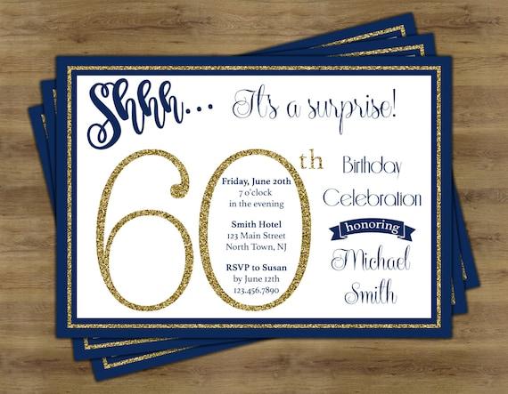 surprise 60th birthday invitations