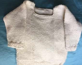 merino wool baby sweater