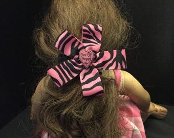 Large 5 Petal Flower Hair Clip