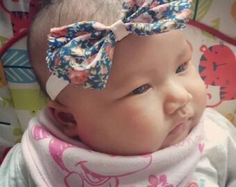 Super cute floral girls headband