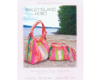 Bailey Island Hobo Bag by Aunties Two Patterns - Purse Pattern - Bag Pattern - Shoulder Bag