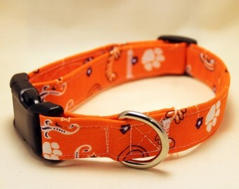 Clemson Tigers Bandana Collar