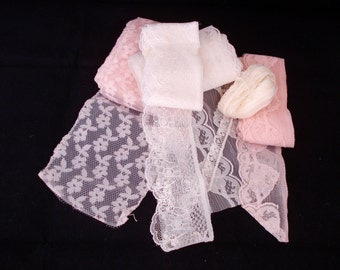 Assorted Vintage Lace