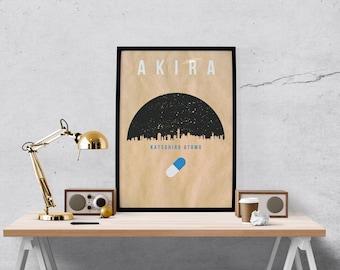 Minimal AKIRA Movie Poster