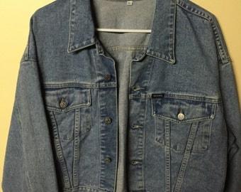 Women's Original Guess Jeans Jacket Size XL