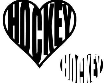 SVG Hockey  instant download, Hockey svg, Hockey eps, Hockey cutting files, Hockey silhouette files, Hockey svg file, Hockey eps file