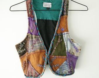 Hippy/Patchwork Vest