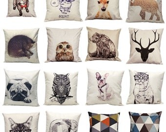 Pillow Case Sofa Waist Throw Cushion Cover Home Décor