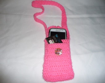 Cell phone and ID holder