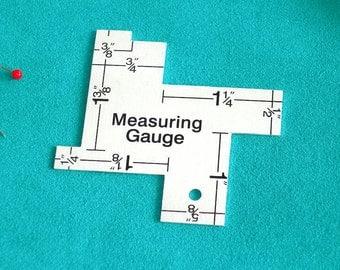 14 in 1 Measuring Gauge - The handiest sewing gauge of all!