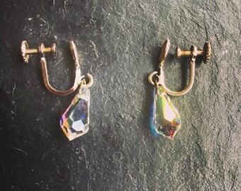 vintage screw on earrings