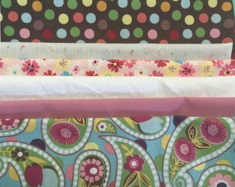 "Fat Quarter Bundle ""Cutie Pie"" 1 (100% Cotton)"