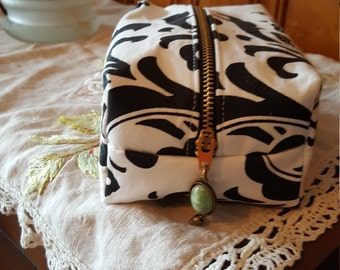 Chic in Black and White Bag
