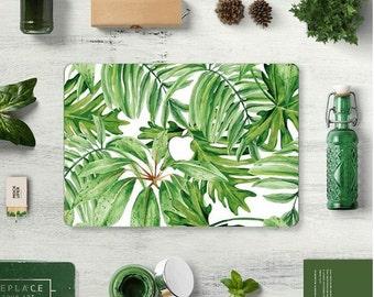 Green Leaves, garden Macbook skin