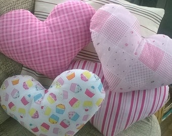 princess heart cushion