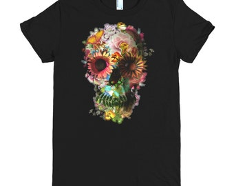Skull 2 T-shirt - L22