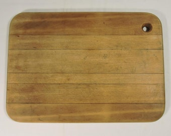 Wood Vintage Cutting Board Small solid Wood
