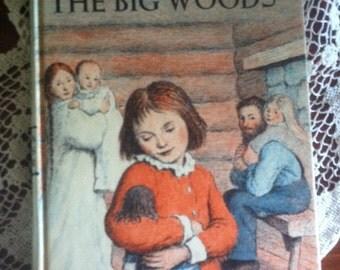 "Vintage ""Little House In The Big Woods"" by Laura Ingalls Wilder,books, Wilder Books,"