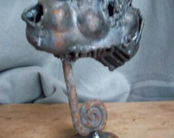 scrap metal head