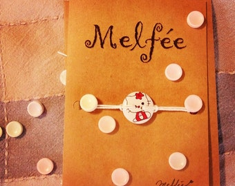 Greeting bracelet (bracelet greeting card) card