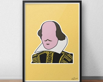 William Shakespeare Print / Poster