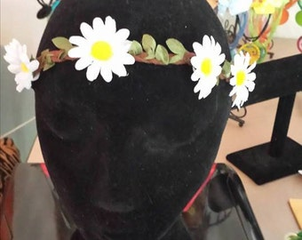Sunflower Flower  Elastic Headband