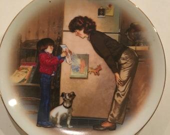 Vintage Creation of Love Avon Plate -1985