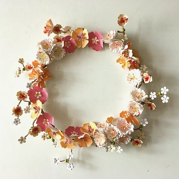 Flower wreath table decoration door decoration new home New flower decoration