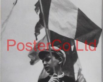 """Robert Capa, Place de la Bastille, 14 July 1936 Bastille Day (Framed Picture 16"""" x 12"""")"""