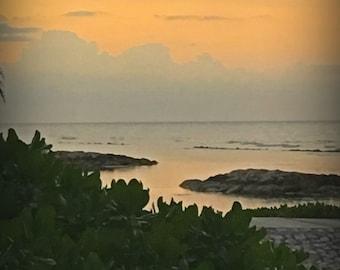 Jamaica sunset picture