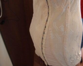 Vintage girdle in peach