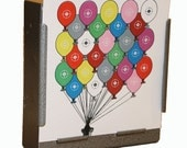 100 x Air Rifle Balloons Target Design on 100gsm Paper 14 x 14cm