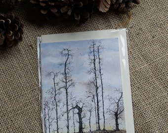 Guardians blank gift card A6