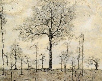 The Chestnut Tree limited edtion giclee print 16/50