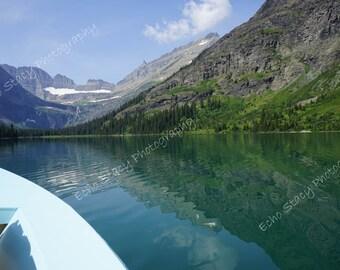 Boating Many Glacier