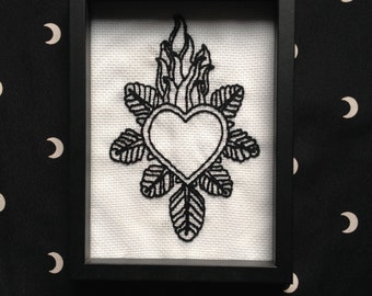 Embroidery - Sacred heart-