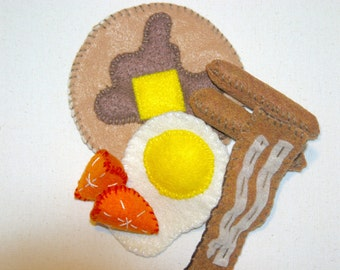 Ready To Ship Felt Breakfast Set