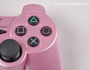 Pink ps3 Controller 8x10 Photo