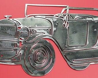 "1927 Ford Model T Roadster 16"", Tin Lizzie, T-Model Ford, Model T, Leaping Lena, Flivver, 1927 Memorabilia, Metal Car Decor, Automotive Art"