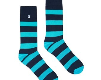Blue Stripes Socks
