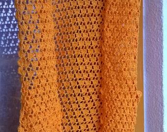 summer orange gilet/vest