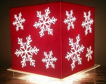 Paper Lampshade - Snowflakes