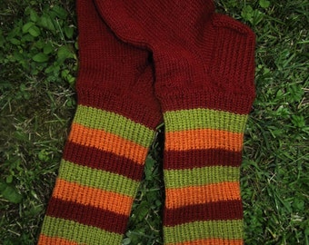 knitted warm socks