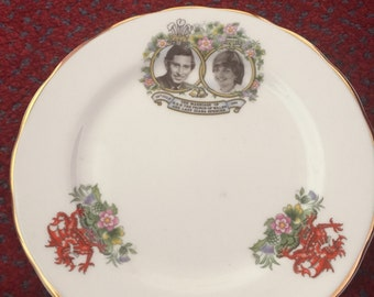 Royal Wedding Commenerative plate
