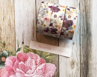 Washi Tape - Wild Flower