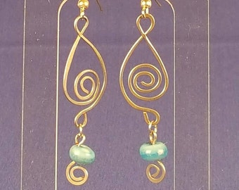 Silver & Turquoise Dangles