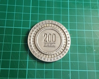 Fallout New Vegas Lucky 38 Platinum poker chip