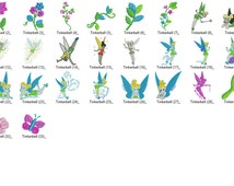 Disney Tinkerbell Embroidery Designs