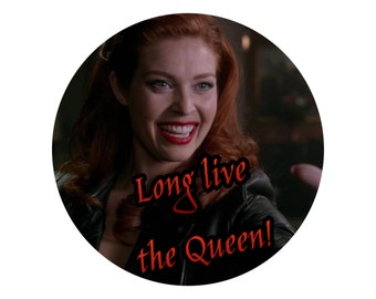 Supernatural | Long live the Queen Badge