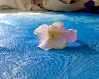 Hairtie Pink Flower, Pony Tail Holder, Hair Accessories